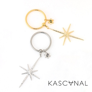 [ 4月再入荷 ] 【KASCANAL】Big Star Bead Ring (ネコポスOK) #restock