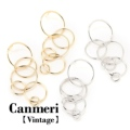 Canmeri Vintage Specialまるピアス (ネコポスOK) 4000円以上 宅配便 送料無料