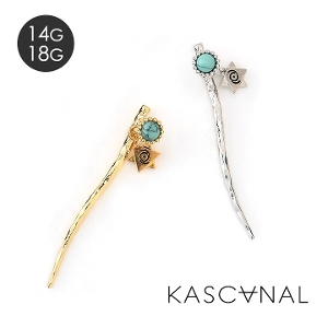 [ 4月再入荷 ] 【KASCANAL】Natural Bar W Face TQ (ネコポスOK) #restock